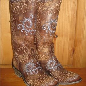 Old Gringo boots - Brown - 9.5